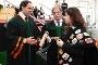 Entrega dos diplomas aos últimos graduados pela UA