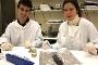Os biólogos Fernando Ricardo e Tânia Pimentel
