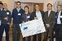Euipa da UA (os três da esquerda) recebe prémio de 100 mil euros