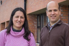 Os investigadores Cristiana Silva e Delfim Torres