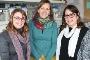 As investigadoras Tânia Caetano, Sónia Mendo e Cláudia Covas