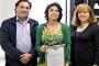 Os investigadores Tito Trindade, Sara Fateixa e Helena Nogueira