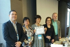 "Investigadora do GEOBIOTEC recebeu um ""Award of Appreciation"" no congresso MedGeo 2017"
