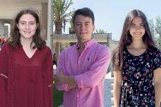 Carolina, Tiago e Francisca: os três melhores caloiros da UA chegaram com 19 valores