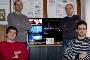 Márcio Reis, Pedro Almeida, Jorge Ferraz de Abreu e Bruno Teles, a equipa de investigadores que desenvolveu a aplicação do Social iTV