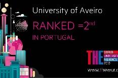 UA em primeiro lugar nacional em três critérios de sustentabilidade