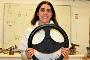A investigadora Helena Alves e o volante amigo dos condutores